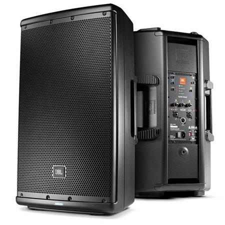 "JBL EON612 2x 12"" Class D Two-Way Multipurpose Self-Powered Sound Reinforcement Speaker with 100x60deg. Coverage Pattern, 57Hz-20kHz, Single"