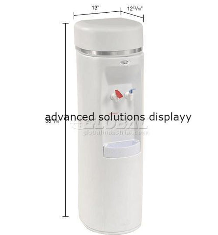 Oasis Atlantis Series Water Cooler, Two Piece Hot Tank, Hot N'Cold™, White