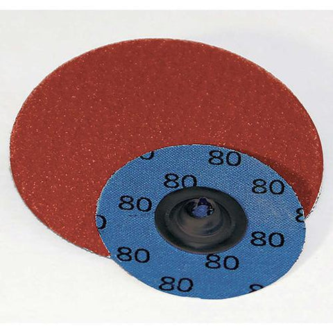 "Superior Abrasives 40321 QC Disc Type S 3"" Aluminum Oxide Medium - Sold in packages of 50"