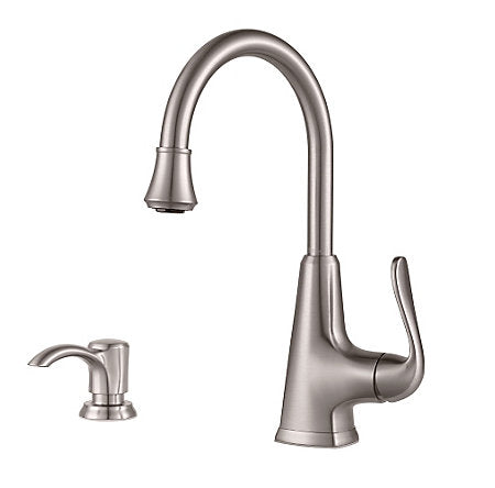 Selia 1-Handle, Pull-Down Kitchen Faucet