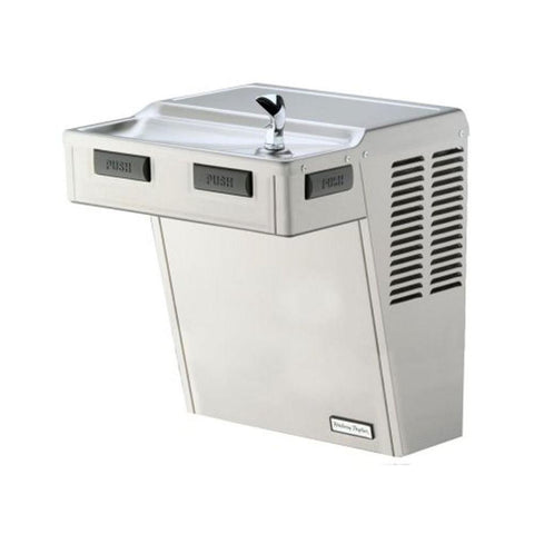 HAC Series HAC8FS-Q ADA Wall Mounted Drinking Fountain in Stainless Steel