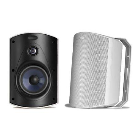 Polk Audio Atrium6 All-Weather Outdoor Loudspeaker, 50Hz-27kHz, Pair, White