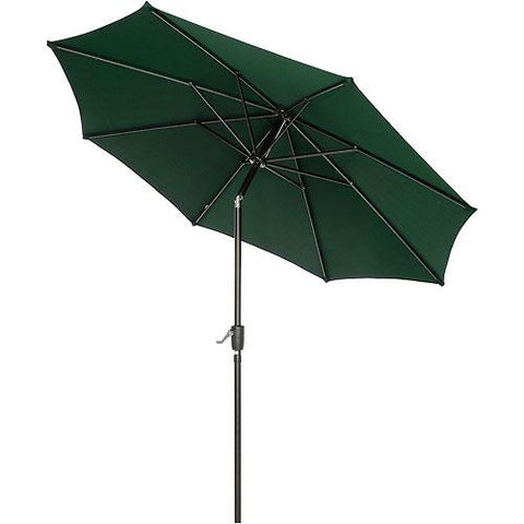 Outdoor Umbrella - Tilt Mechanism - Olefin - 8-1/2', Green