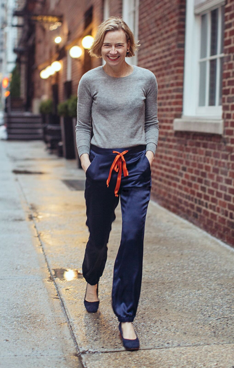 "TWIG pant "" Orange Rose "" for EVERY MOTHER COUNTS"