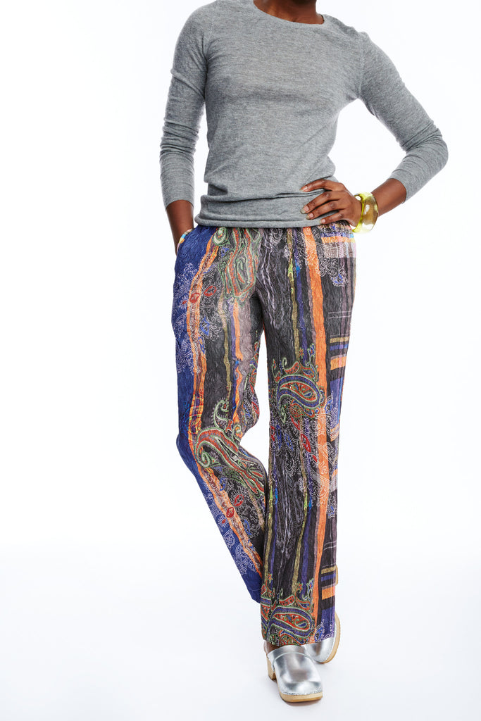 TWIG Boho Pants (Orange Brown)