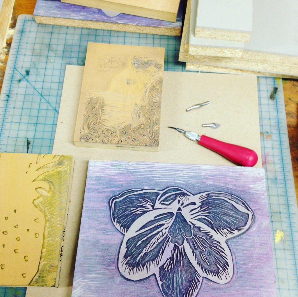 From the Pressmaster: Linoleum on Letterpress