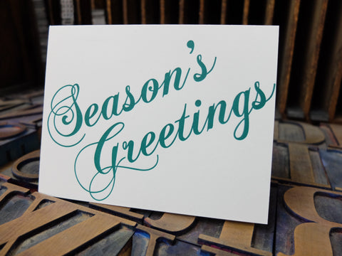 All About Letterpress Special Holiday Edition