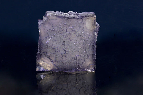 "Elmwood Fluorite : Cubic Crystal Specimen with ""Carthage Corners"""