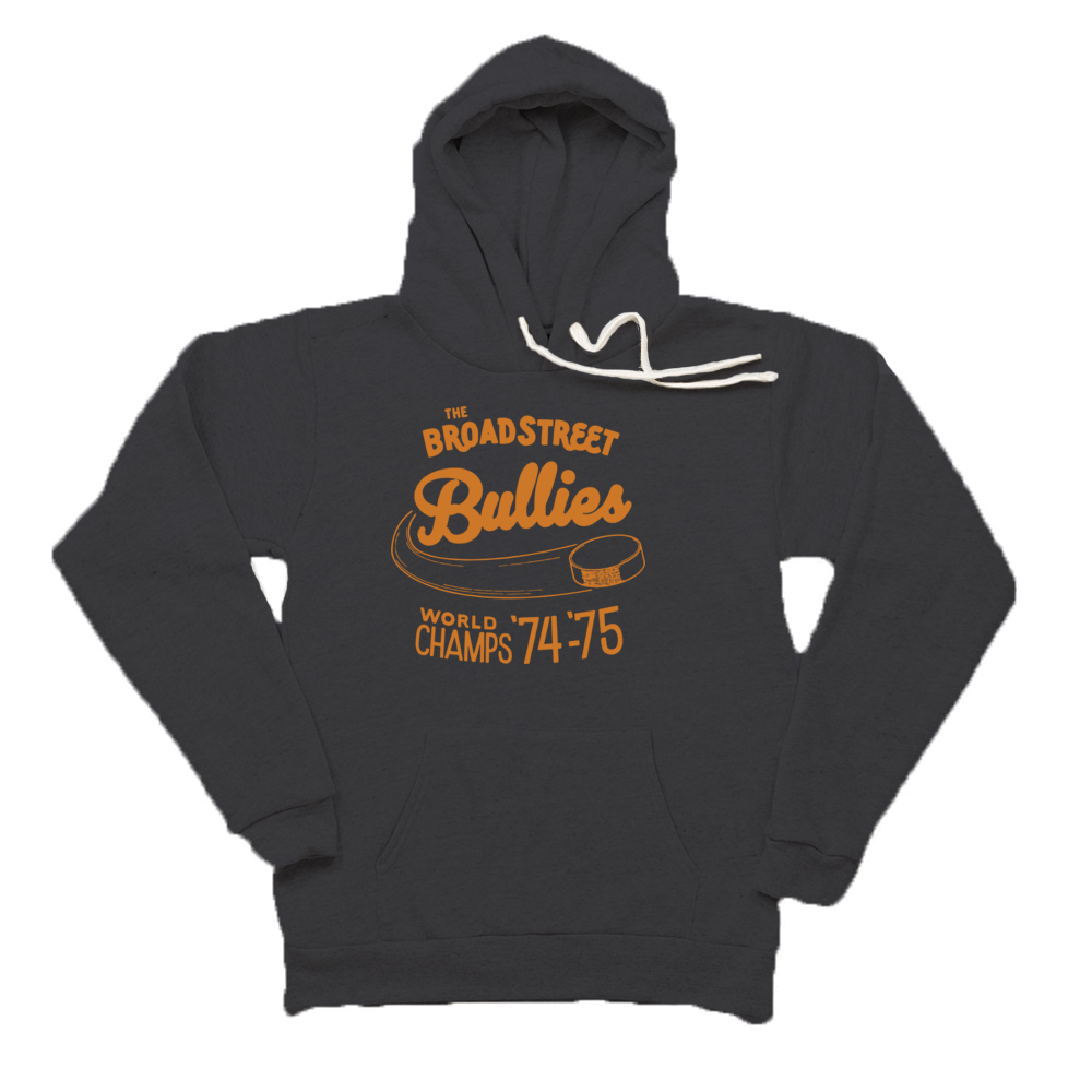 Broad Street Bullies Premium Unisex Triblend Fleece Pullover Hoody - PhillyFandom Hoodies - Shirts PhillyFandom Philly Sports Tees