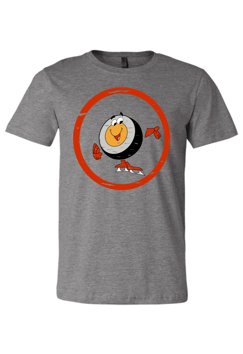Retro Peter Puck T-Shirt Premium Tee - PhillyFandom Premium Tee - Shirts PhillyFandom Philly Sports Tees