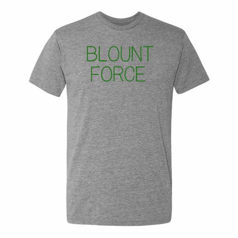 Blount Force Adult Triblend Short Sleeve Tee