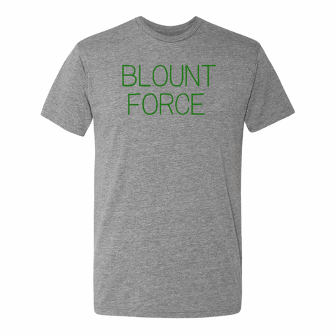 Blount Force Adult Triblend Short Sleeve Tee - PhillyFandom Product - Shirts PhillyFandom Philly Sports Tees