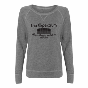 Retro The Spectrum Ladies Slouchy - PhillyFandom Product - Shirts PhillyFandom Philly Sports Tees