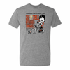 Goalie Strikes Twice Adult Triblend Short Sleeve Tee - PhillyFandom Product - Shirts PhillyFandom Philly Sports Tees