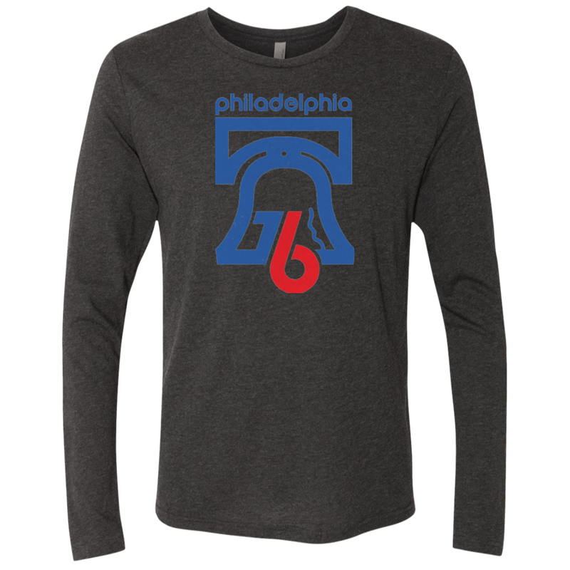 1976 Philly Men's Triblend Long Sleeve Crew