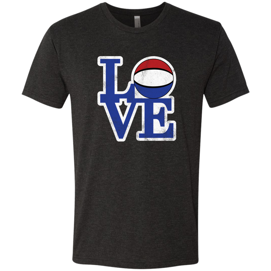 Philly Hoops Love Men's Triblend T-Shirt