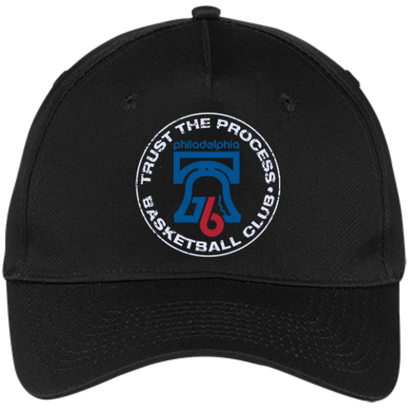 Trust the Process Five Panel Twill Cap - PhillyFandom Hats - Shirts PhillyFandom Philly Sports Tees