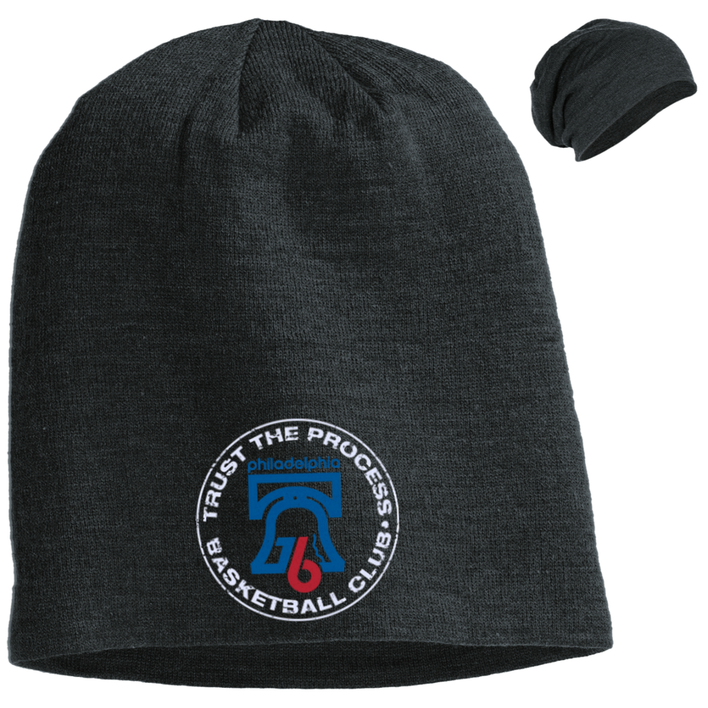 Trust the Process Slouch Beanie - PhillyFandom Hats - Shirts PhillyFandom Philly Sports Tees