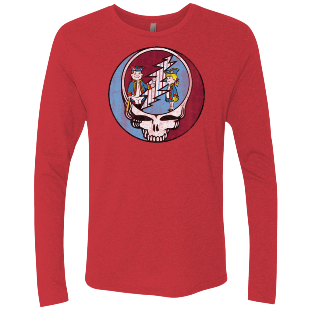 Stealadelphia Baseball Men's Triblend Long Sleeve Crew