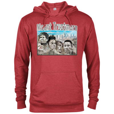 Mount Trustmore French Terry Adult Hoodie - PhillyFandom Sweatshirts - Shirts PhillyFandom Philly Sports Tees