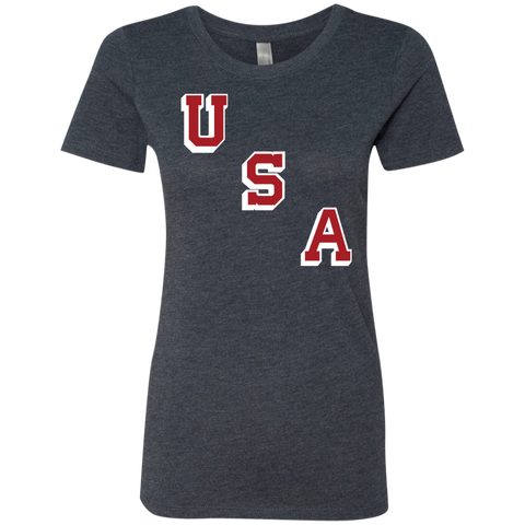 1960 Forgotten Miracle USA Ladies' Triblend T-Shirt - PhillyFandom T-Shirts - Shirts PhillyFandom Philly Sports Tees