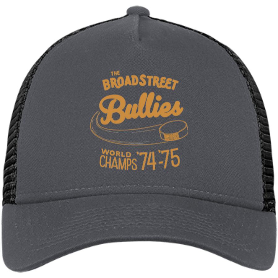 Broad Street Bullies New Era® Embroidered Snapback Trucker Cap