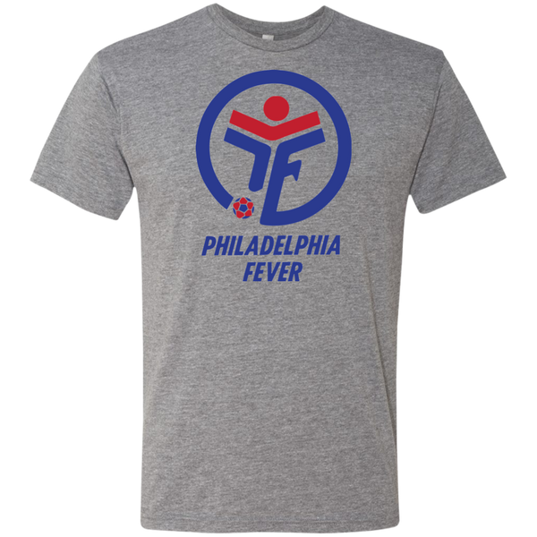 Retro Philadelphia Fever Soccer Men's Triblend T-Shirt - PhillyFandom T-Shirts - Shirts PhillyFandom Philly Sports Tees