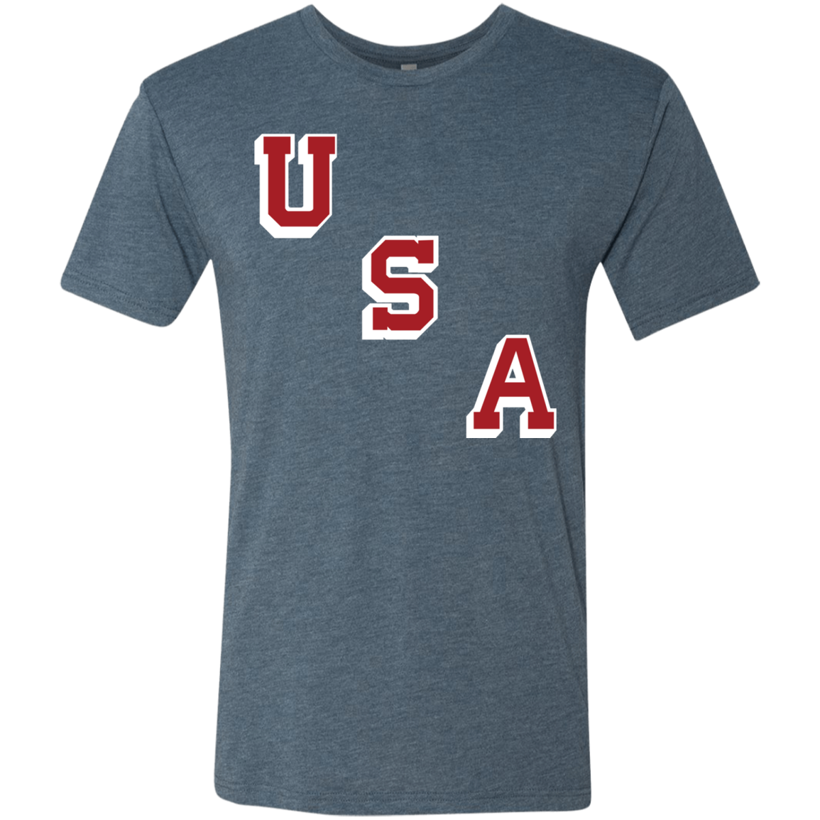 USA 1960 Forgotten Miracle Men's Triblend T-Shirt - PhillyFandom T-Shirts - Shirts PhillyFandom Philly Sports Tees