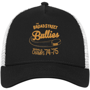 Broad Street Bullies New Era® Embroidered Snapback Trucker Cap - PhillyFandom Hats - Shirts PhillyFandom Philly Sports Tees