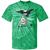 Birds v Vikings Retro Program Youth Tie Dye T-Shirt