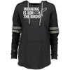 Winning is for the Birds Ladies Hooded Low Key Pullover - PhillyFandom Sweatshirts - Shirts PhillyFandom Philly Sports Tees