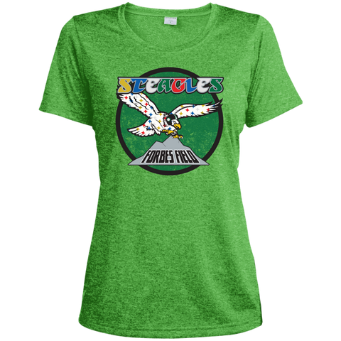 Retro Steagles Ladies' Heather Dri-Fit Moisture-Wicking T-Shirt - PhillyFandom T-Shirts - Shirts PhillyFandom Philly Sports Tees