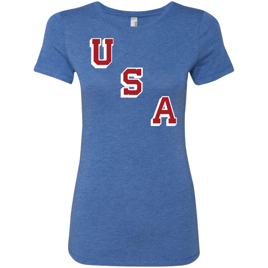 1960 Forgotten Miracle USA Ladies' Triblend T-Shirt
