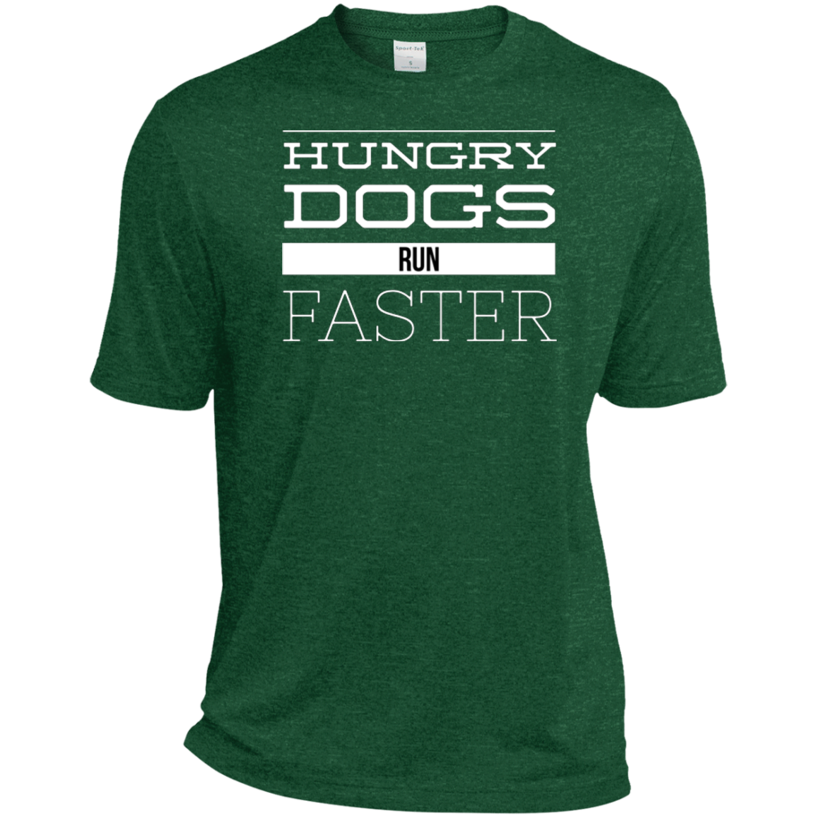 Hungry Dogs Heather Dri-Fit Moisture-Wicking T-Shirt - PhillyFandom T-Shirts - Shirts PhillyFandom Philly Sports Tees