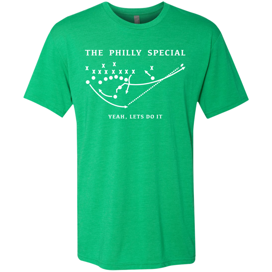 Philly Special Let's Do It Men's Triblend T-Shirt