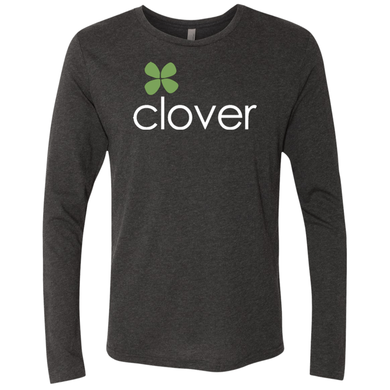 Clover Men's Triblend Long Sleeve Crew