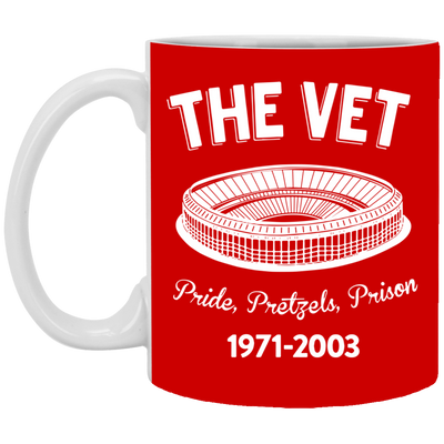 Retro The Vet Mug - PhillyFandom Apparel - Shirts PhillyFandom Philly Sports Tees