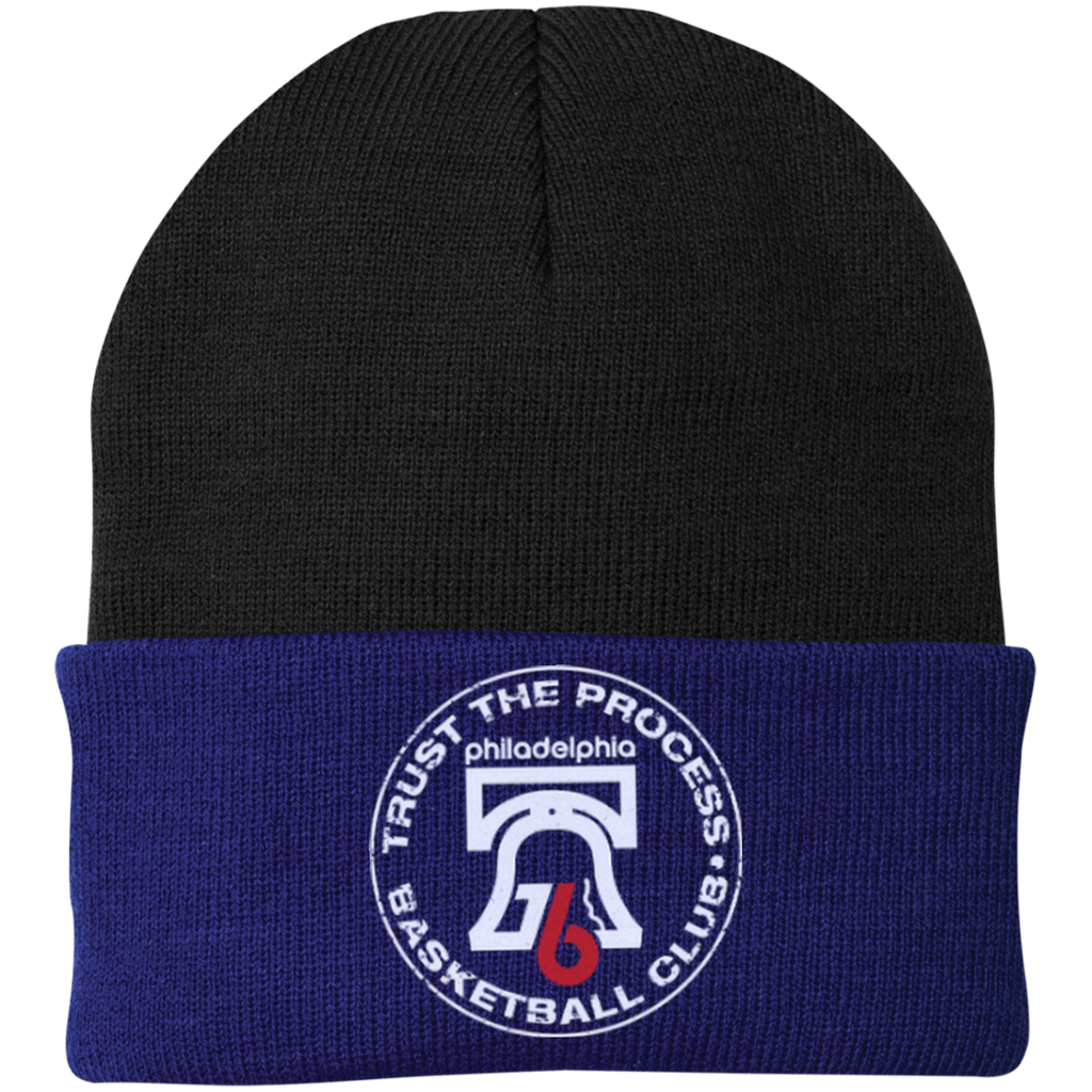 Trust the Process Hoops Club One Size Fits Most Knit Cap - PhillyFandom Hats - Shirts PhillyFandom Philly Sports Tees