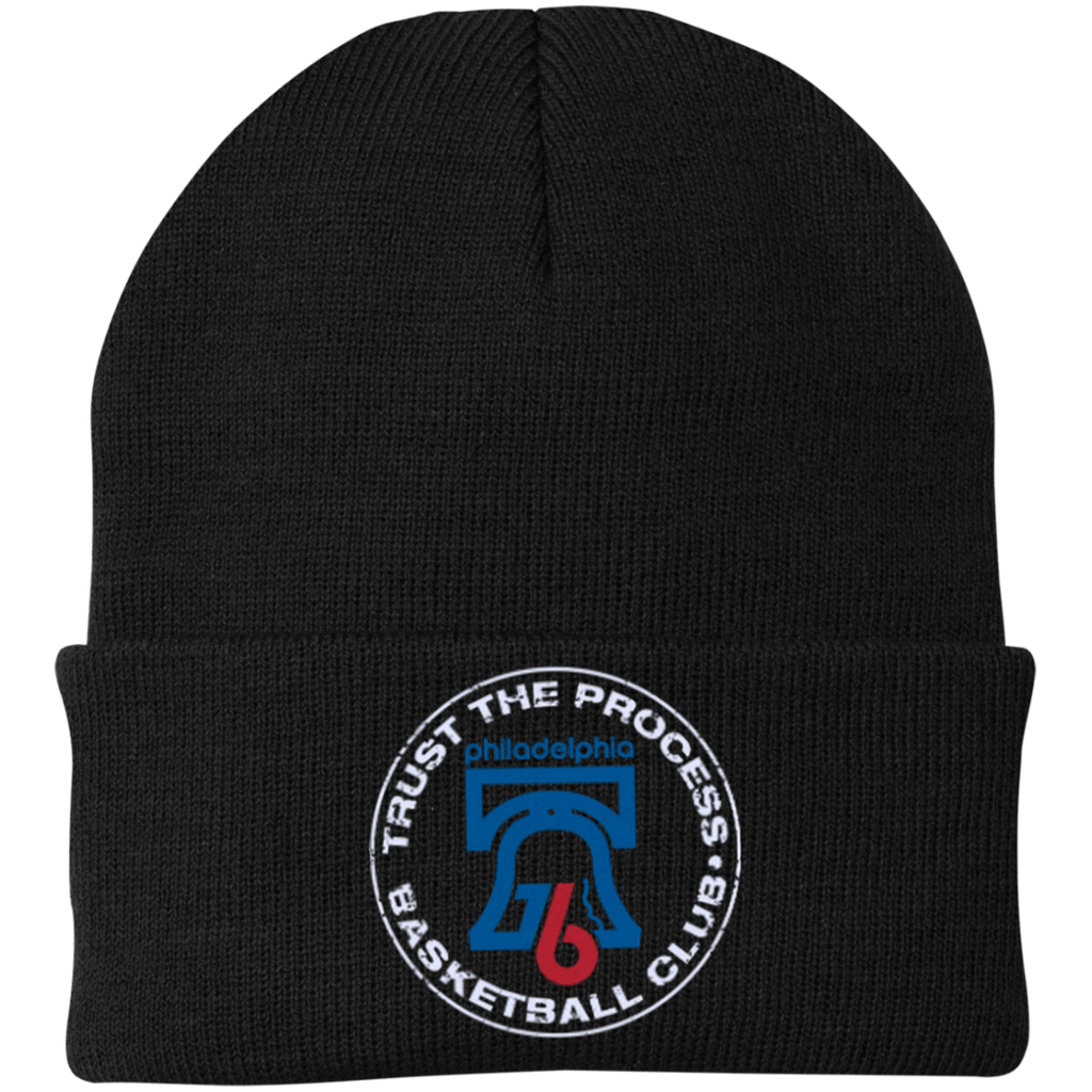 Trust the Process One Size Fits Most Knit Cap - PhillyFandom Hats - Shirts PhillyFandom Philly Sports Tees