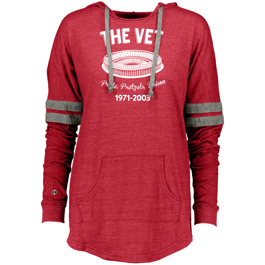 Retro The Vet Ladies Hooded Low Key Pullover