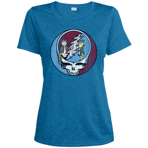 Stealadelphia Baseball Ladies' Heather Dri-Fit Moisture-Wicking T-Shirt - PhillyFandom T-Shirts - Shirts PhillyFandom Philly Sports Tees