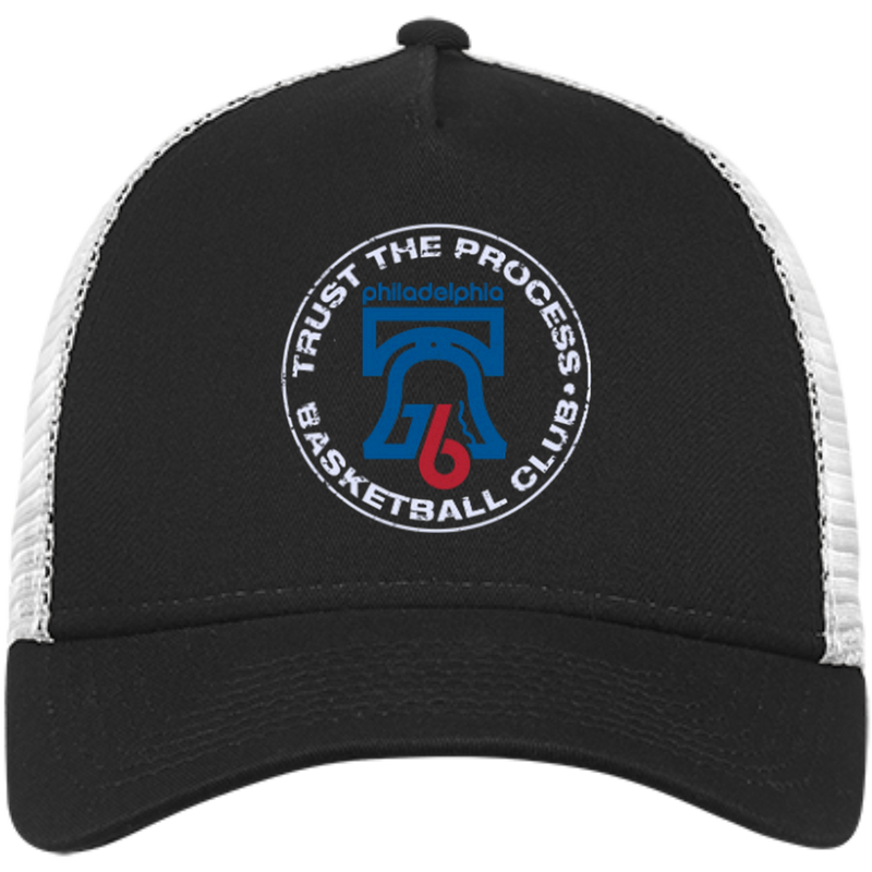 Trust the Process New Era® Snapback Trucker Cap - PhillyFandom Hats - Shirts PhillyFandom Philly Sports Tees