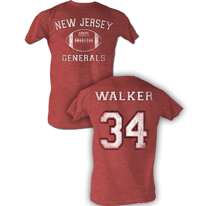 Herschel Walker USFL New Jersey Generals Vintage T-Shirt - PhillyFandom shirts - Shirts PhillyFandom Philly Sports Tees