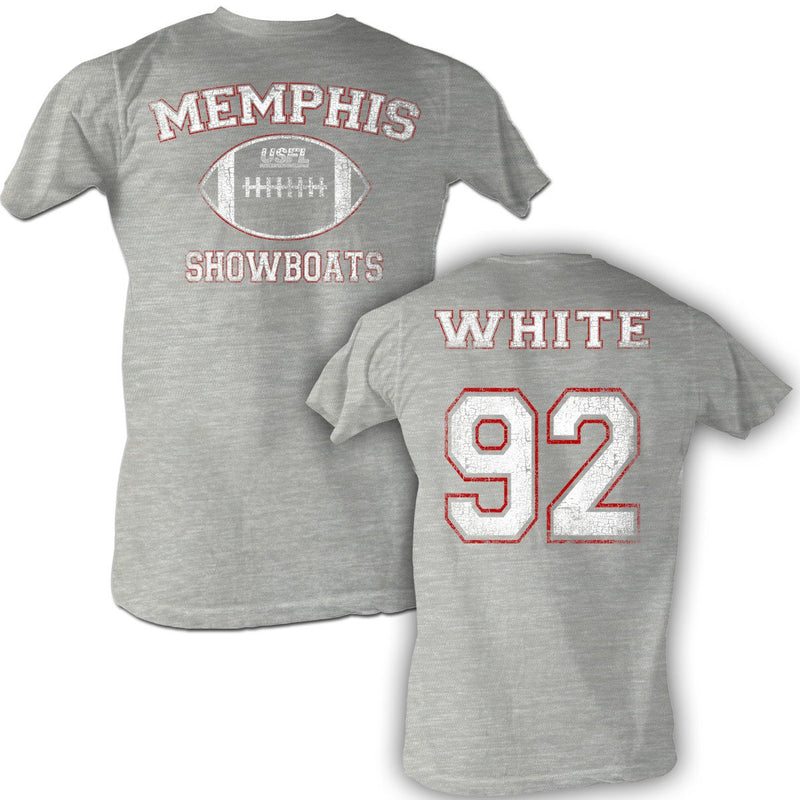 Reggie White USFL Memphis Showboats Vintage T-Shirt - PhillyFandom shirts - Shirts PhillyFandom Philly Sports Tees