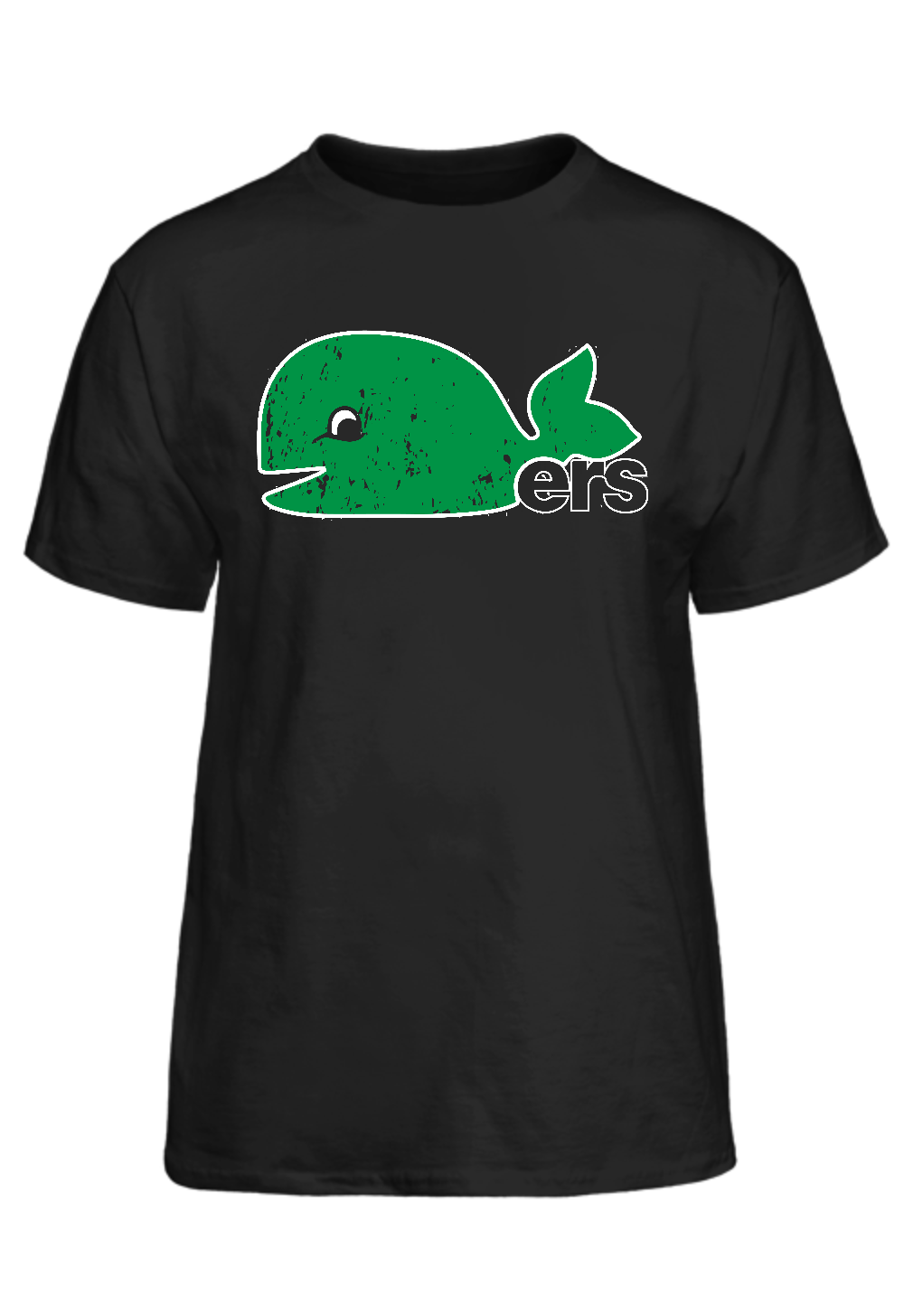Pucky The Whale Whalers Inspired T-Shirt Basic Tee - PhillyFandom Basic Tee - Shirts PhillyFandom Philly Sports Tees