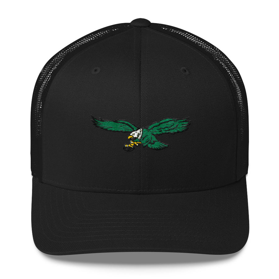 Retro Philadelphia Eagles Inspired Trucker Cap