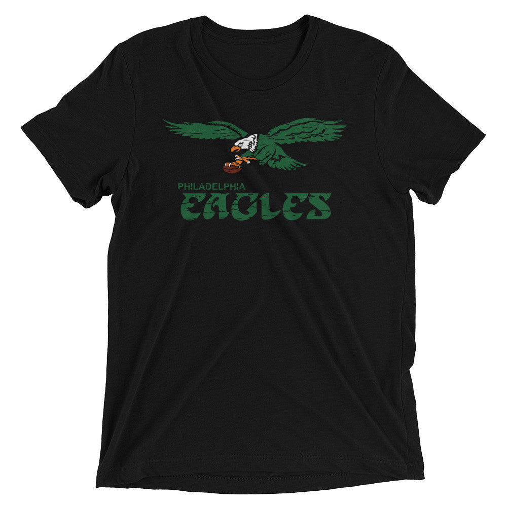 Retro Eagles Inspired Short Sleeve Triblend T-Shirt