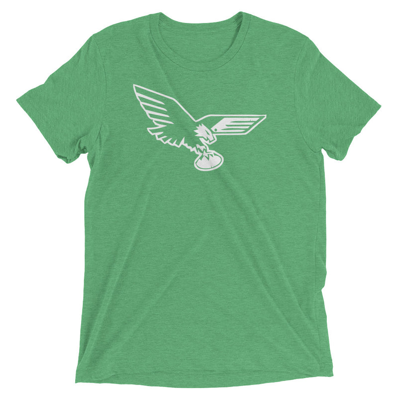 Old School Philadelphia Eagles Bird Inspired Unisex Tri Blend Tee
