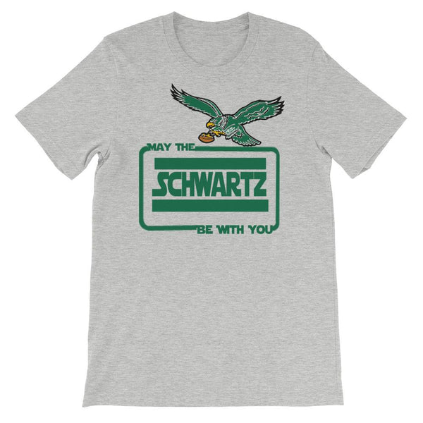May The Schwartz Be With You Short-Sleeve Unisex T-Shirt - PhillyFandom  - Shirts PhillyFandom Philly Sports Tees