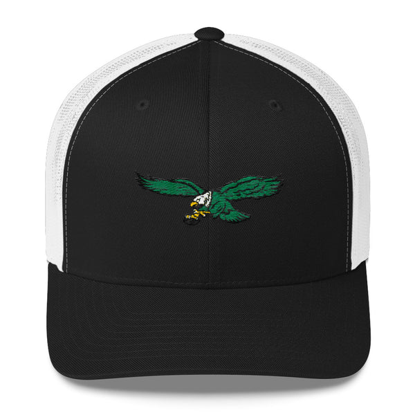 Retro Philadelphia Eagles Inspired Trucker Cap - PhillyFandom  - Shirts PhillyFandom Philly Sports Tees